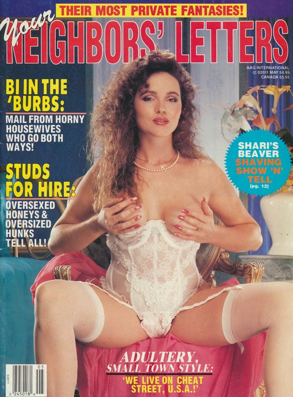 AAG International May 1993 - Your Neighbors' Letters magazine back issue Adult Action Guide International magizine back copy