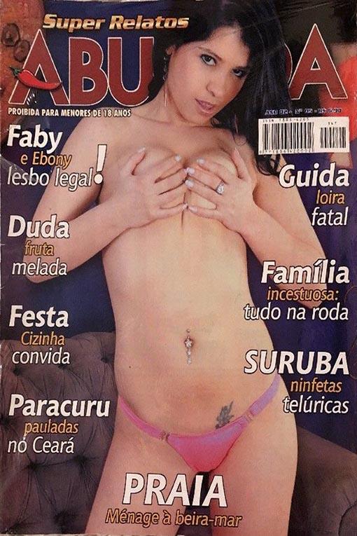 Abusada # 5 magazine back issue Abusada magizine back copy