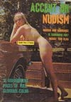 Accent on Nudism Vol. 1 # 5 magazine back issue