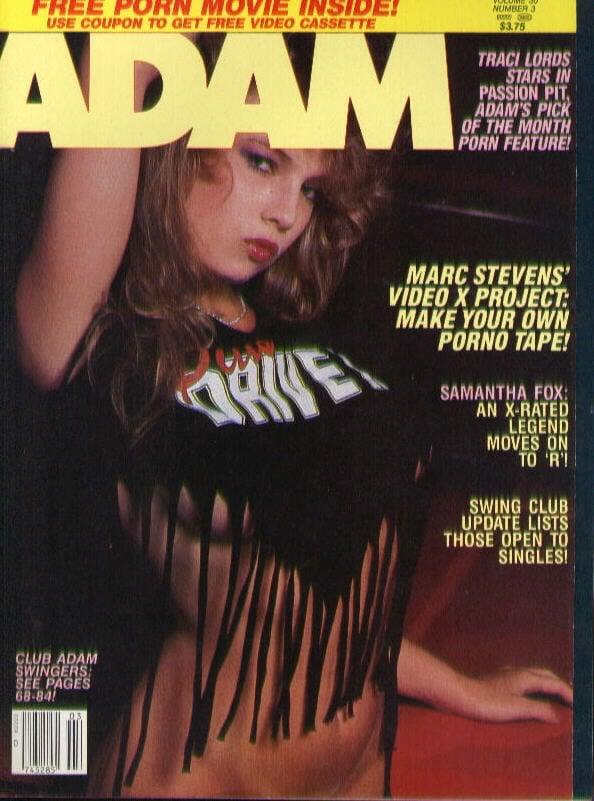 Adam March 1986 Vol 30 3 Magazine Back Issue Adam