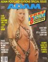 Taylor Wane magazine cover  Adam Vol. 36 # 10 - October 1992
