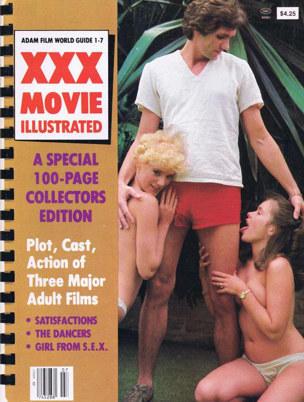 Adam Film World XXX Movie Illustrated Front Cover