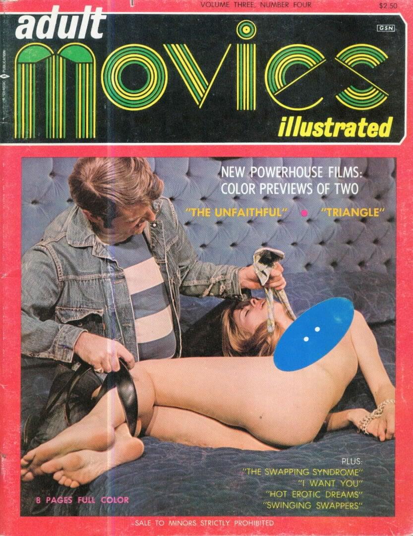 Adult Movies Illustrated Vol. 3 # 4 magazine back issue Adult Movies Illustrated magizine back copy