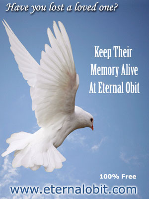 Obituary free online memorial inmemory loved ones passed away no charge online obits