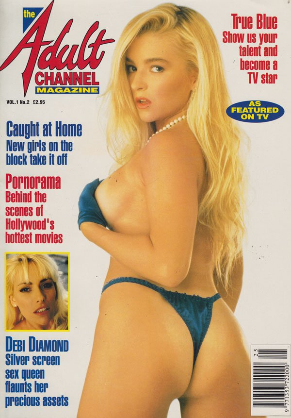 Adult Channel Magazine Vol. 1 # 2 magazine back issue Adult Channel Magazine magizine back copy the adult channel magazine no 2 1994 back issues hollywoods hottest movies naughty amateur pornstar