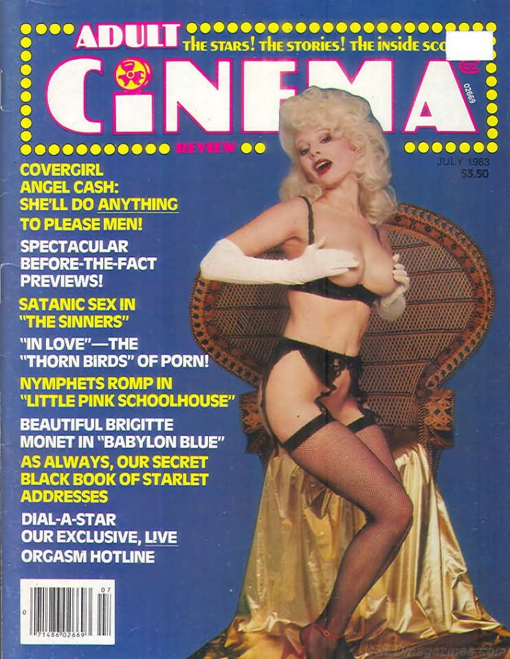 Have thought adult cinema magazine amusing opinion
