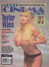 Taylor Wane magazine cover  Adult Cinema Review October 1997