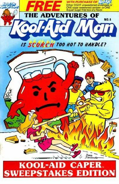 Adventures of Kool-Aid Man A1 Comix Comic Book Database
