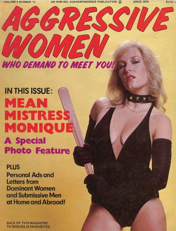 Aggressive Women Vol. 4 # 11 magazine back issue Aggressive Women magizine back copy