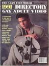 Adam Gay Video Directory # 1 magazine back issue