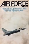 Air Force January 1979 magazine back issue