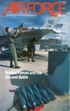 Air Force April 1989 magazine back issue