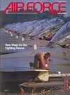 Air Force April 1992 magazine back issue