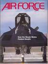 Air Force November 1992 magazine back issue