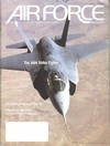 Air Force January 2002 magazine back issue