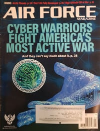 Air Force January 2018 magazine back issue