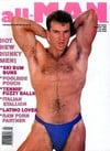 All Man January 1990 magazine back issue cover image