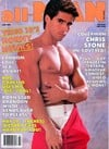 All Man July 1990 magazine back issue cover image