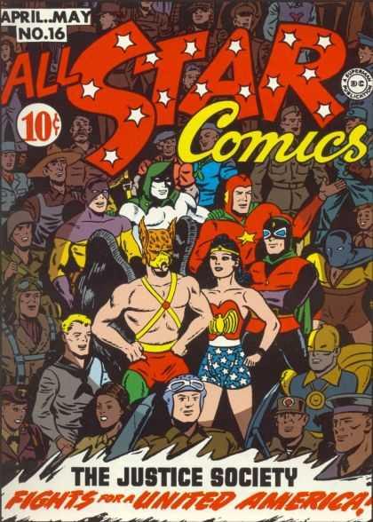 All Star Comics A1 Comix Comic Book Database