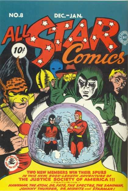 All Star Comics A1 Comix Comic Book Database