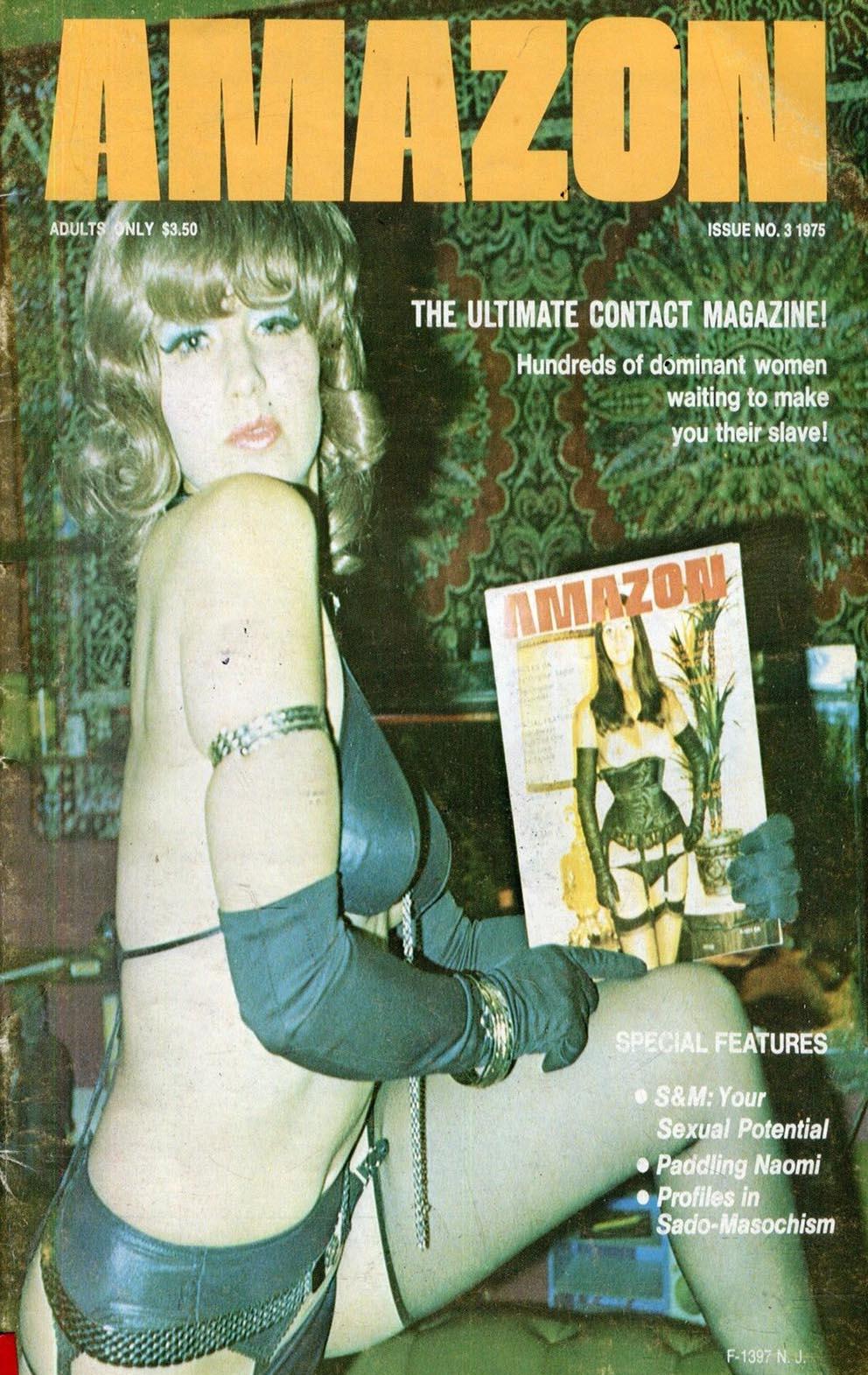 Amazons # 3 magazine back issue Amazons magizine back copy
