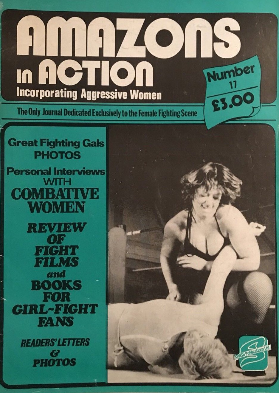 Amazons in Action # 17 magazine back issue Amazons in Action magizine back copy