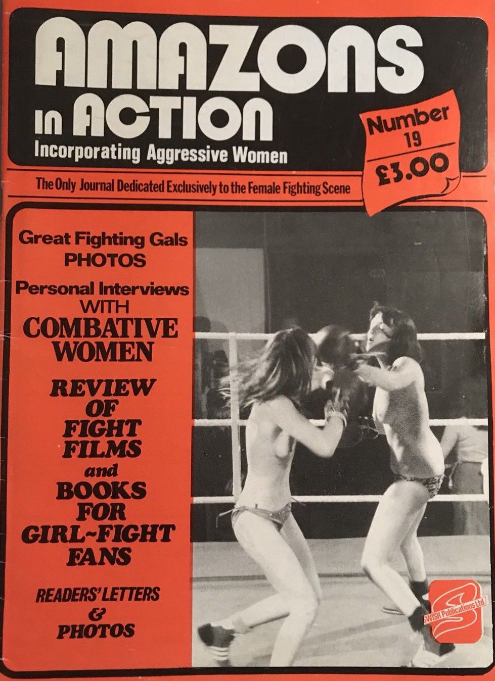 Amazons in Action # 19 magazine back issue Amazons in Action magizine back copy