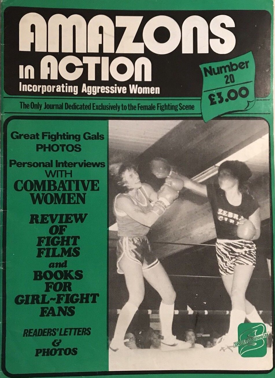 Amazons in Action # 20 magazine back issue Amazons in Action magizine back copy