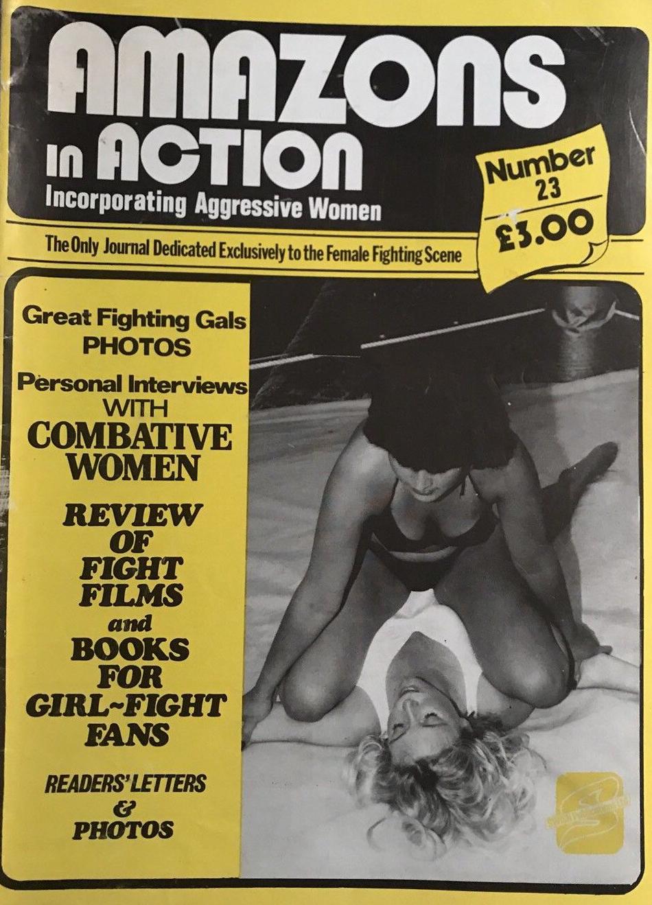 Amazons in Action # 23 magazine back issue Amazons in Action magizine back copy