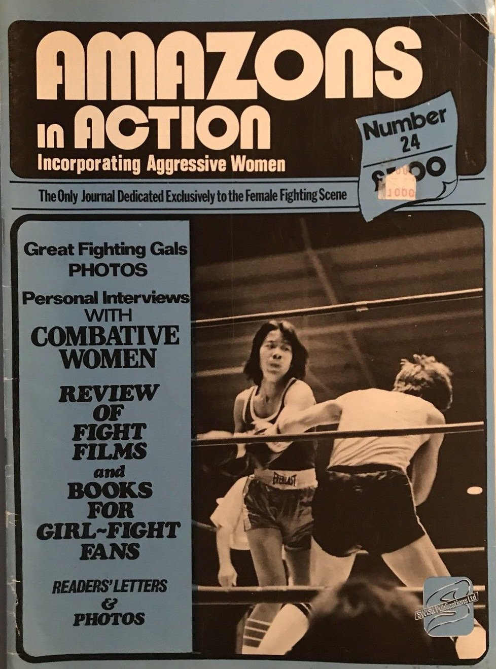 Amazons in Action # 24 magazine back issue Amazons in Action magizine back copy