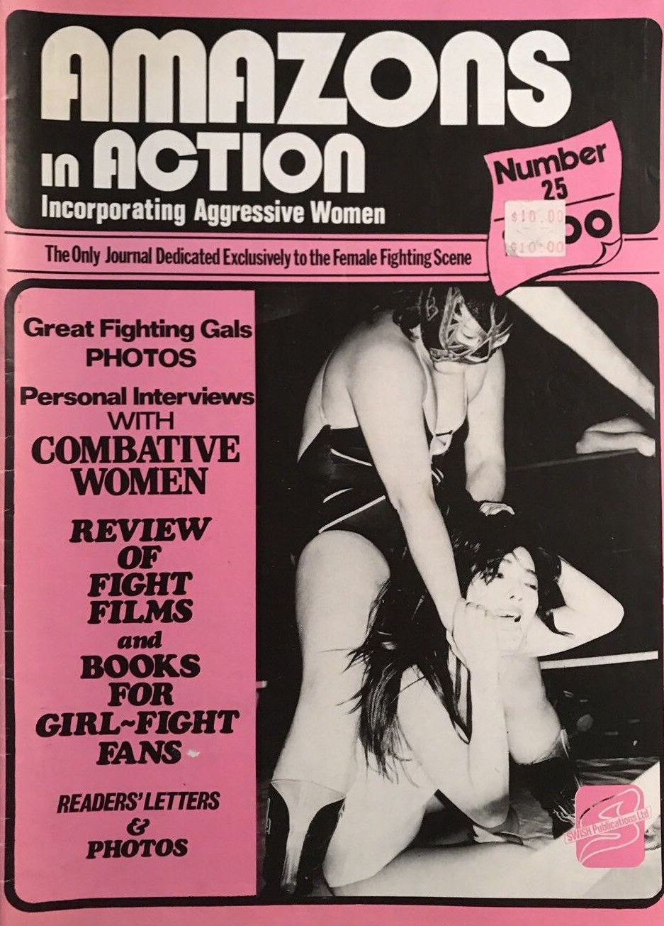 Amazons in Action # 25 magazine back issue Amazons in Action magizine back copy