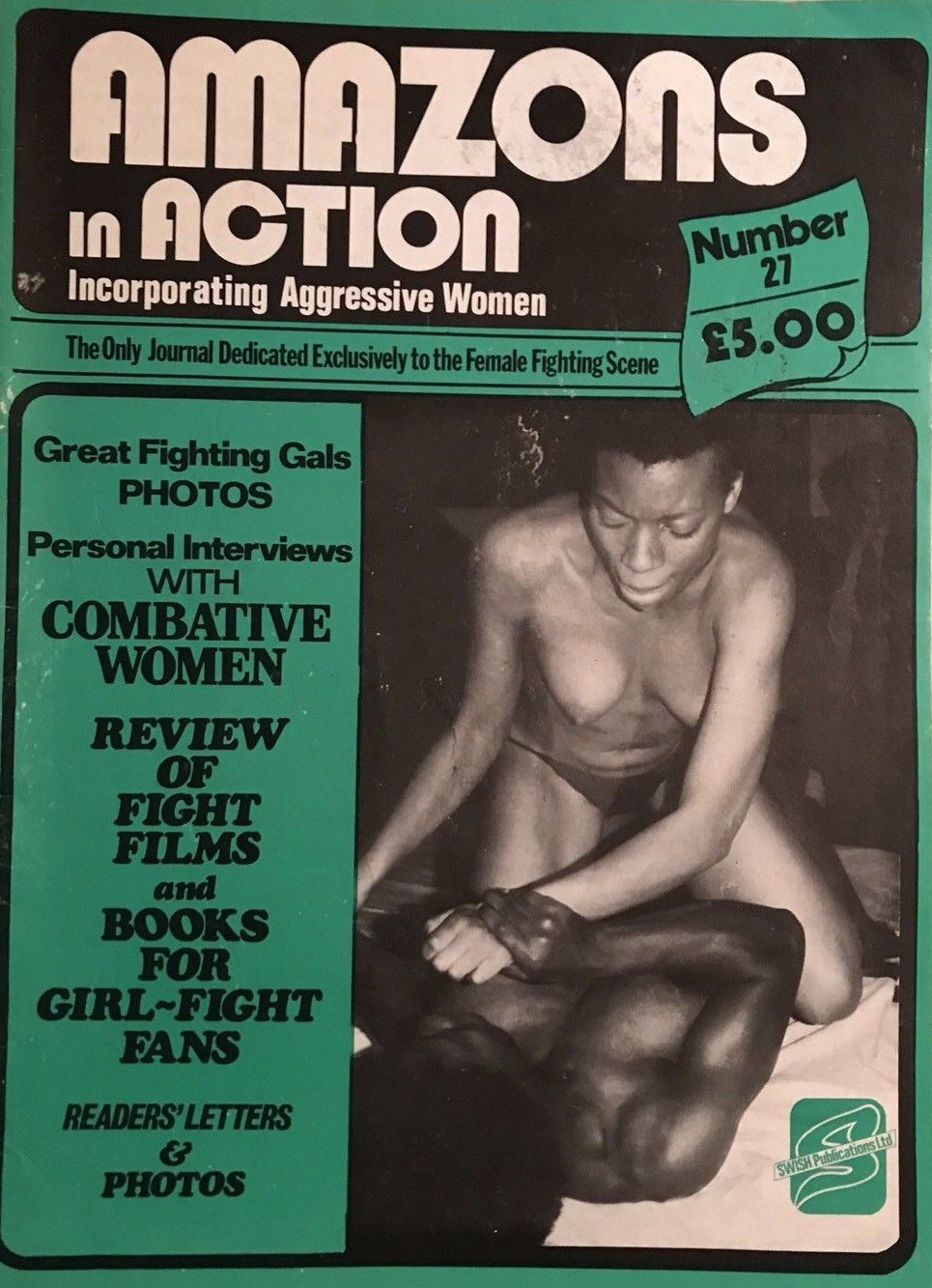 Amazons in Action # 27 magazine back issue Amazons in Action magizine back copy