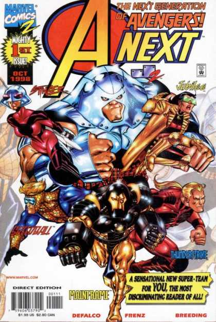 A-Next Comic Book Back Issues by A1 Comix