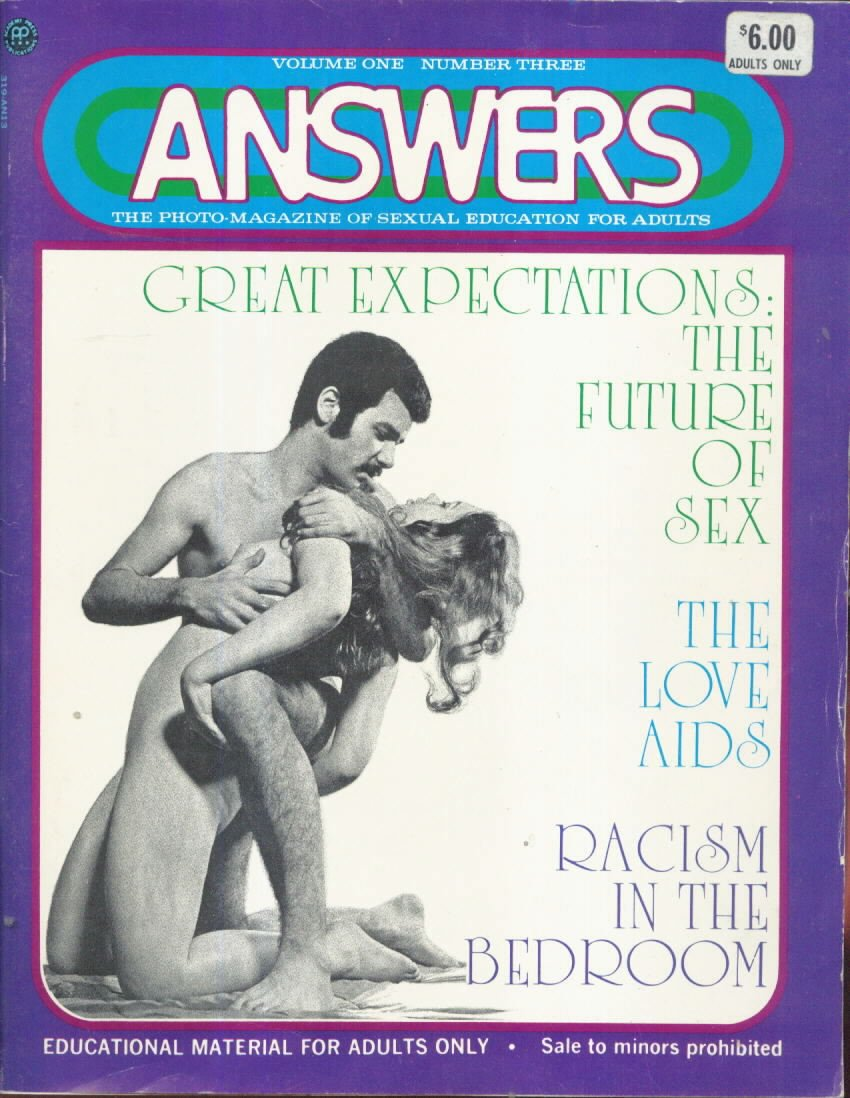 Answers Vol. 1 # 3 magazine back issue Answers magizine back copy