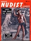 American Nudist Leader January 1962 magazine back issue cover image
