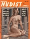 American Nudist Leader April 1962 magazine back issue cover image