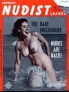 American Nudist Leader May 1962 magazine back issue cover image
