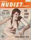American Nudist Leader June 1962 magazine back issue cover image
