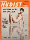 American Nudist Leader July 1962 magazine back issue cover image