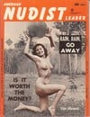 American Nudist Leader October 1962 magazine back issue