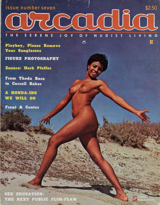 Arcadia # 7 magazine back issue Arcadia magizine back copy