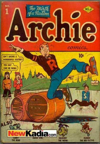 Archie Comic Book Back Issues by A1 Comix