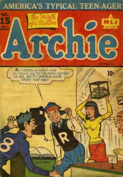 Archie A1 Comix Comic Book Database