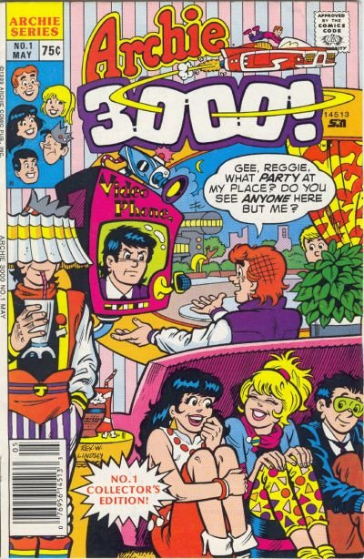 Archie 3000 Comic Book Back Issues by A1 Comix