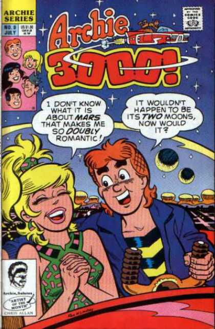 Archie 3000 A1 Comix Comic Book Database