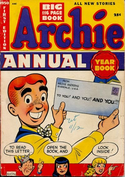 Archie Annual Digest Comic Book Back Issues by A1 Comix
