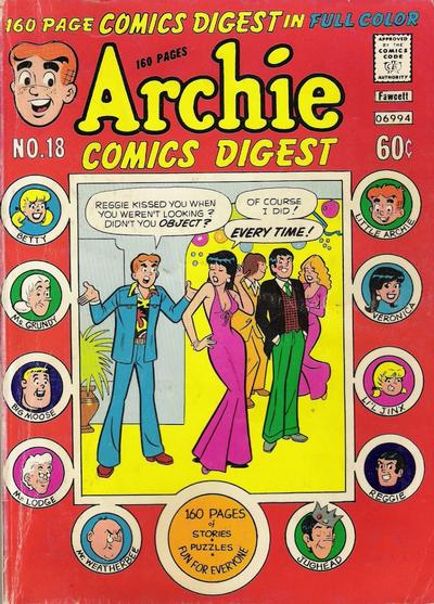 Archie Comics Digest A1 Comix Comic Book Database