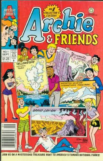 Archie & Friends Comic Book Back Issues by A1 Comix