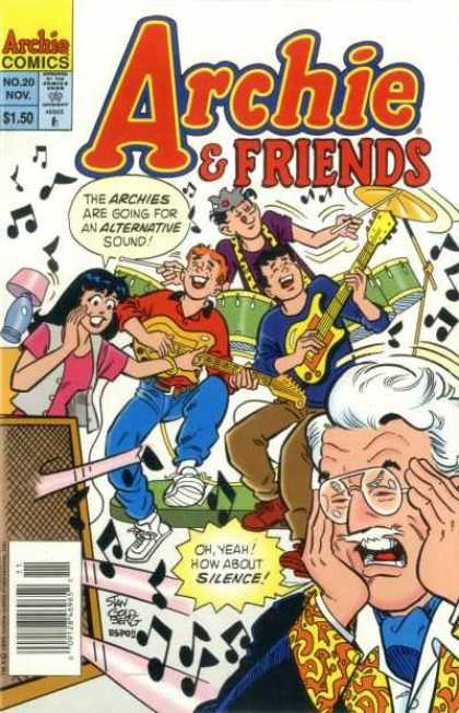 Archie & Friends comic book back issue comicbook back copy