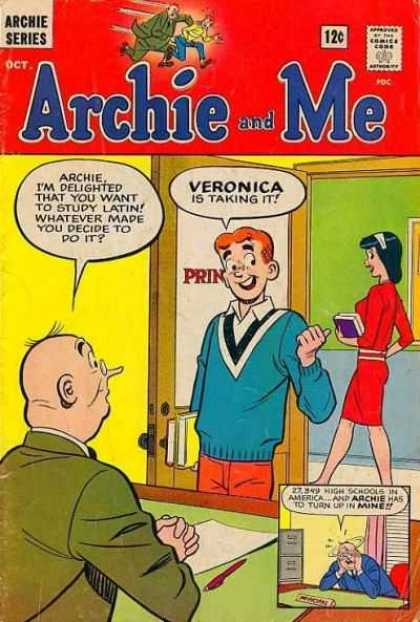 Archie and Me Comic Book Back Issues by A1 Comix